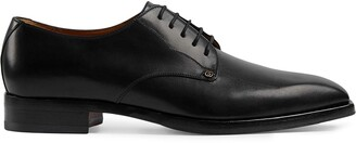 Gucci Leather Lace-Up Shoes