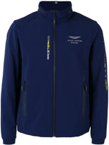 Hackett zipped neck lightweight jacket - men - Elastodiene/Polyester - S