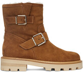 Thumbnail for your product : Jimmy Choo Tan Suede Youth II Boots