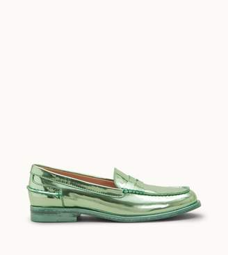 Tod's Loafers in Metallic Leather