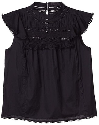 J.Crew Sleeveless Patricia Top (Black) Women's Clothing