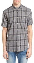 Obey Men's Pine Plaid Woven Shirt