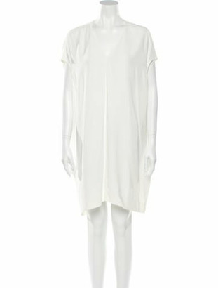 Rick Owens 2013 Knee-Length Dress White