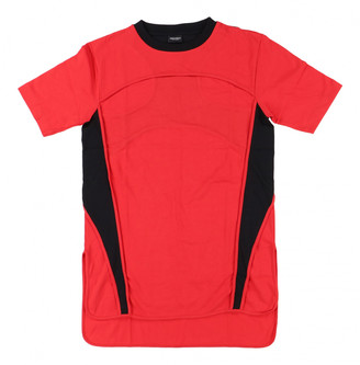 Marcelo Burlon County of Milan Red Cotton T-shirts