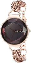 RumbaTime Women's 02953 Orchard Chain Gold-Tone Watch