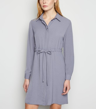 New Look Drawstring Waist Shirt Dress