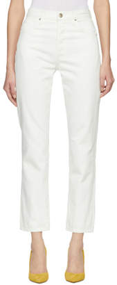 Gold Sign Off-White The Benefit Jeans