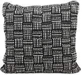 Joseph Abboud Geometric Basketweave Throw Pillow