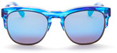 Wildfox Couture Unisex Clubfox Deluxe Clubmaster Acetate & Metal Frame Sunglasses