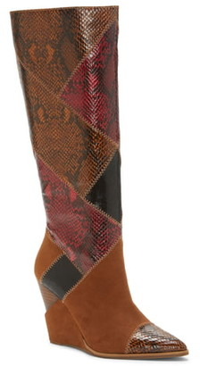 Jessica Simpson Henlee Knee High Wedge Boot