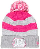 New Era Women's Cincinnati Bengals NFL 2016 Breast Cancer Awareness Sport Knit Hat