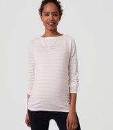 LOFT Maternity Springstripe Sweater