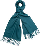 One Kings Lane Alpaca Wool Solid Scarf, Lake