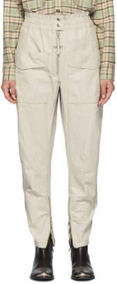 Etoile Isabel Marant Off-White Lecia Trousers