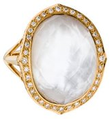 Stephen Webster 18K Diamond & Mother of Pearl Doublet Ring