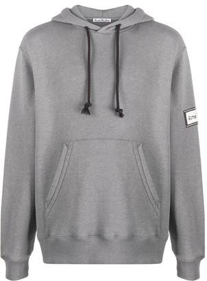 Acne Studios Logo Patch Hooded Sweatshirt