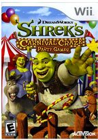 Nintendo wii TM shrek's carnival craze TM: party games