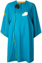 Paul Smith floral print shift dress - women - Silk/Cupro - 40