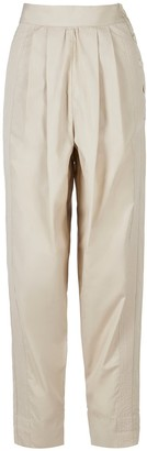 A Line Clothing Desert Nude Trousers With Side Bar