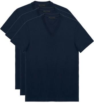 Prada triple-pack V-neck T-shirts