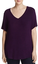 B Collection By Bobeau Curvy B Collection by Bobeau Curvy Danielle V-Neck Tee - 100% Exclusive