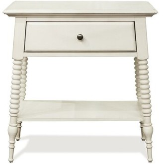 Rosecliff Heights Newcastle 1 Drawer Nightstand Color: Paperwhite