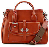 Dooney & Bourke Florentine Collection Front-Pocket Satchel