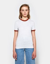 Carvey T-shirt in Pearl Blue