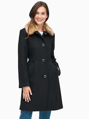 Kate Spade Fit And Flare Coat