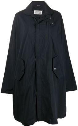 Maison Margiela A-line oversized raincoat