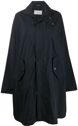 Maison Margiela A-line oversized raincoat