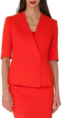 Akris Structured Wrap-Front Cardigan