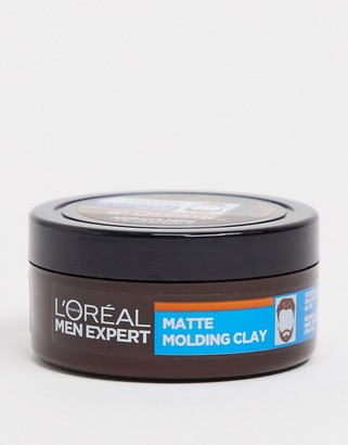 L'Oreal Men Expert Barber Club Messy Hair Molding Clay 75ml