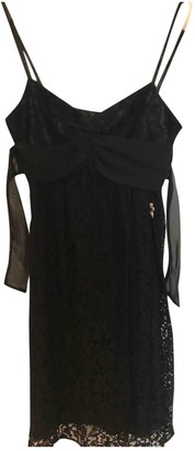 Galliano Black Lace Dress for Women