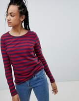 Tommy Hilfiger Stripe Long Sleeved T-Shirt