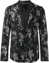Philipp Plein tiger print blazer