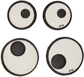 Anya Hindmarch Four-Pack Ivory Eyes Stickers