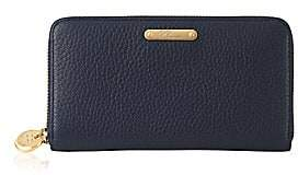 GiGi New York Pebbled Leather Zip-Around Wallet