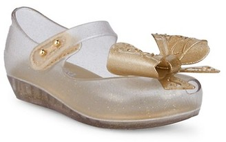 Mini Melissa Baby Girl's Little Girl's Ultragirl Glittering Bow Shoes
