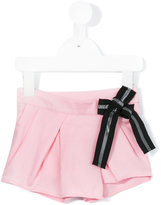 Karl Lagerfeld wrap front shorts - kids - Lyocell - 24 mth