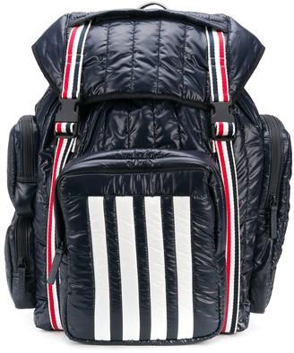 Thom Browne 4-Bar Stripe Backpack