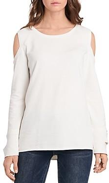 Vince Camuto Cold Shoulder Sweatshirt