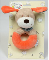 """""""""""Darcy"""""""" Dog Rattle Toy"""