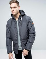 Jack & Jones Hooded Parka With Fleece Lining
