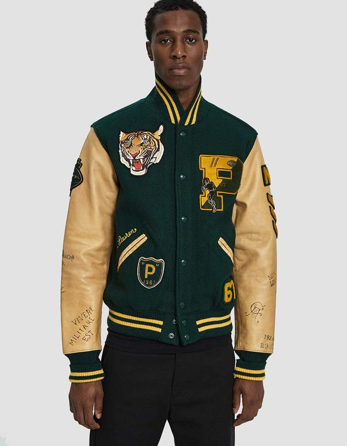 Polo Ralph Lauren Polo University Letterman Jacket