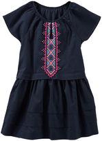 Osh Kosh Embroidered Tiered Dress