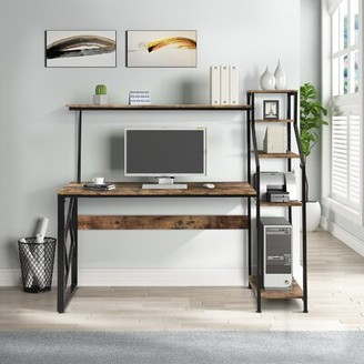 17 Stories Anabella Desk with Hutch