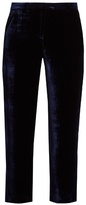 Masscob Milna straight-leg velvet trousers