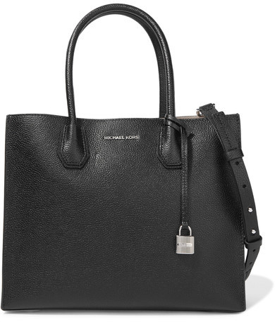 MICHAEL Michael Kors Mercer Large Textured-leather Tote