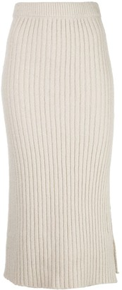 Altuzarra Orville rib-knit skirt